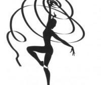 Лента гимнастическая с палочкой